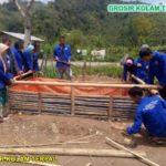 Pembuatan Kolam Terpal Ikan Lele