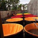 Jual Kolam Terpal Dan Rangka Besi Baja Ringan